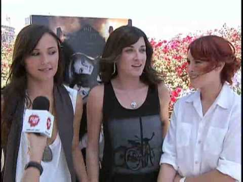 SDCC 2009: The Sisters of 'Sorority Row'