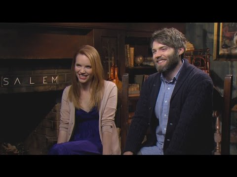 SALEM: Seth Gabel and Tamzin Merchant Their Characters and Season 2