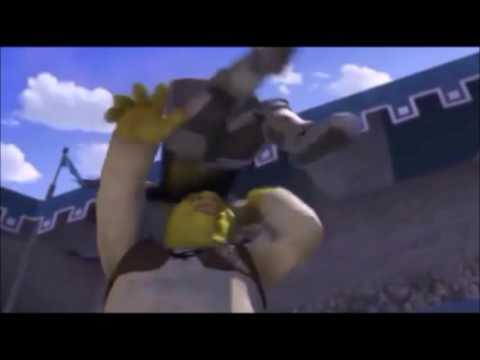 Shrek & Maurice Tillet