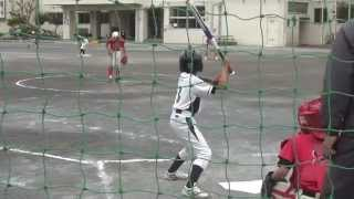 横須賀の千代ウイングスさんと練習試合を行いました。2試合連続の動画...
