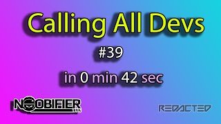 Calling All Devs in 42 Seconds - Pipeline Delivery - #starcitizen