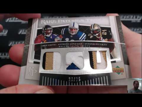 2007 Upper Deck Premier Football 10 Box Case Break RT #1 ~ 7