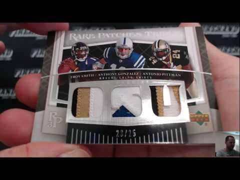 2007 Upper Deck Premier Football 10 Box Case Break RT #1 ~ 7/10/16