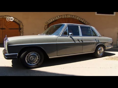 Less showy than the S-class: Mercedes 280 E/8   Drive it!