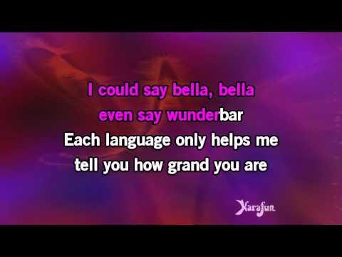 Karaoke, Bei Mir Bist Du Schon - The Andrews Sisters
