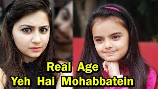 Real Age of  Yeh Hai Mohabbatein  2017