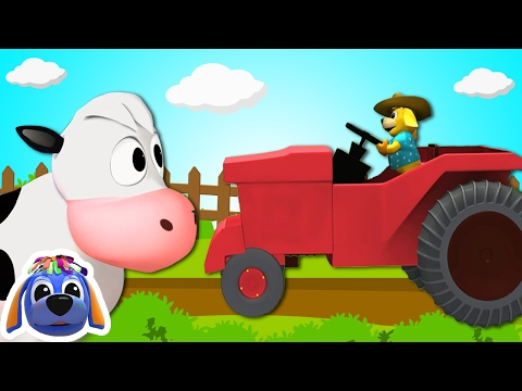 Farmer In The Dell | Nursery Rhymes | Kids Songs by Raggs TV