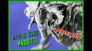 Alien King Maquette Unboxing - Sideshow Collectibles | Guru Reviews