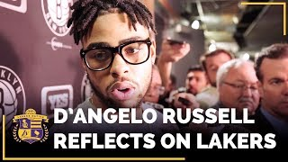 D'Angelo Russell Reflects on Time With Lakers, Kobe Bryant
