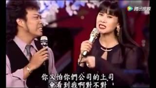 张菲唱歌欲挽回愤怒的妻子,岂料爱人却挽上费玉清的手