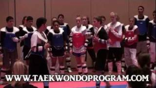 Juan Moreno Taekwondo. Contact drills and sparring # 2