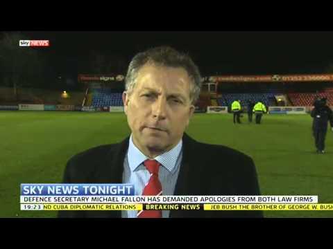 Iraq Abuse Inquiry: Head Of British Army Reacts