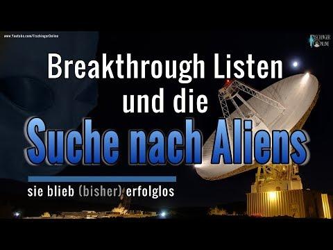 Breakthrough Listen und die Suche nach Aliens: sie blieb (bisher) erfolglos