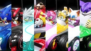 Team Sonic Racing - All Characters