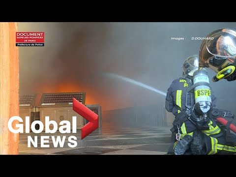 "See the ""Colossus"" Firefighting Robot That Helped Save Notre Dame"