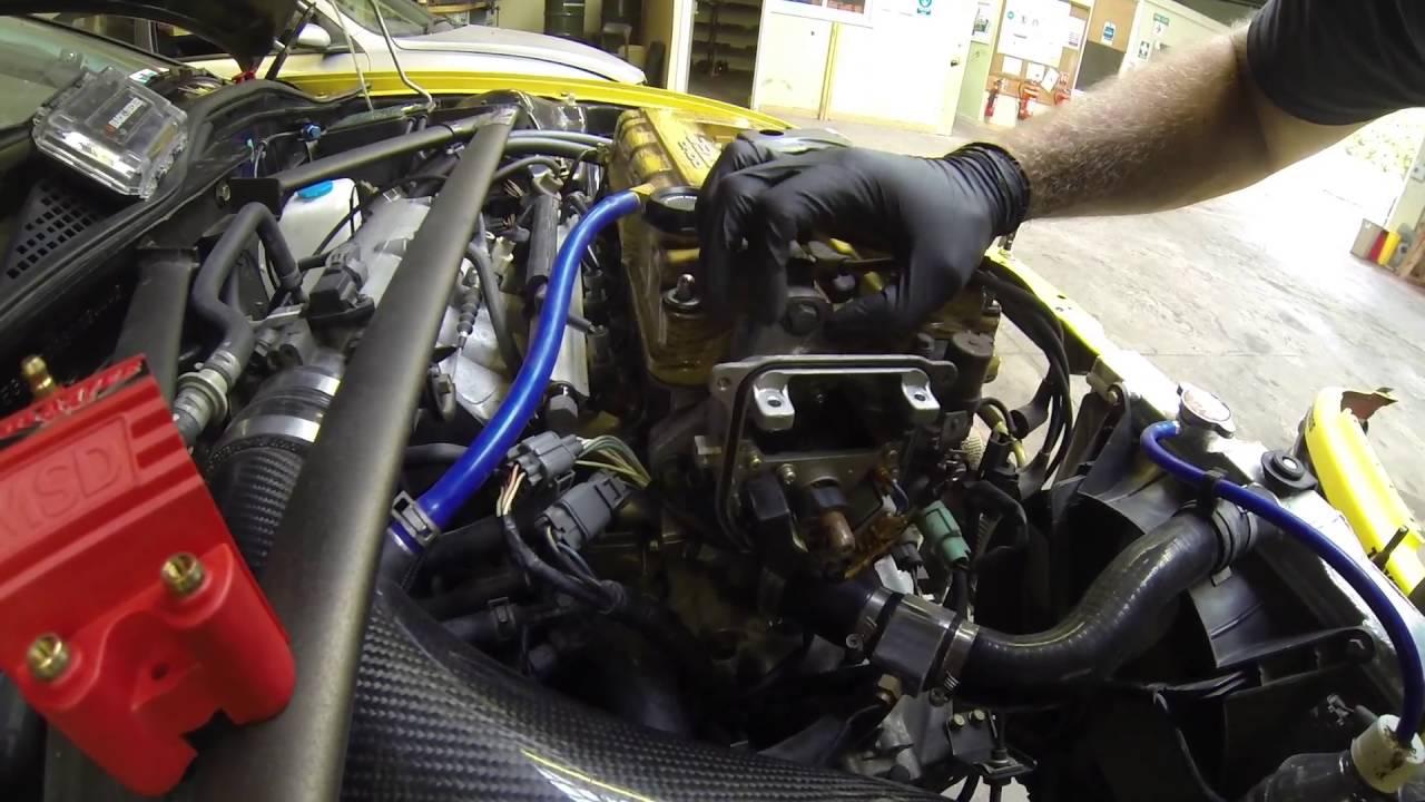 Motor Spirit Eg6 Ep 11 Msd External Coil Kit Install Youtube Honda Prelude Blaster Wiring Diagram