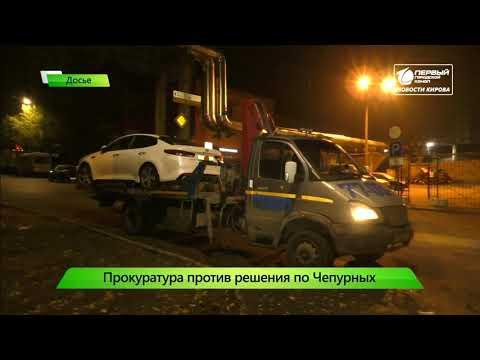Прокуратура против решения суда по Чепурных  Новости Кирова 15 11 2019