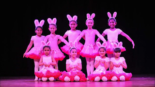 Ballet Dance Performance Bunny Rabbits