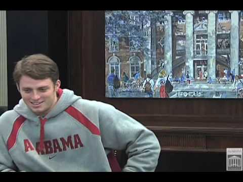 C&BA Student Athletes Off the Field: Greg McElroy