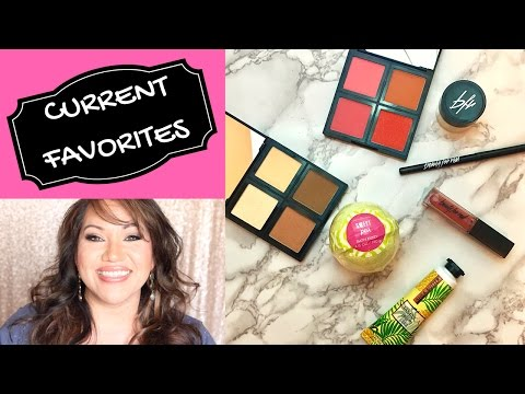 CURRENT FAVORITES + AN UNFAVORITE! ELF Cosmetics, Urban Decay, Beauty For Real, Bath & Body Works