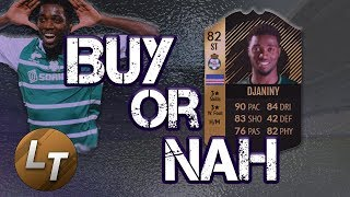 2IF Djaniny Player Review!     Buy or Nah     FIFA 18 Player Review Series