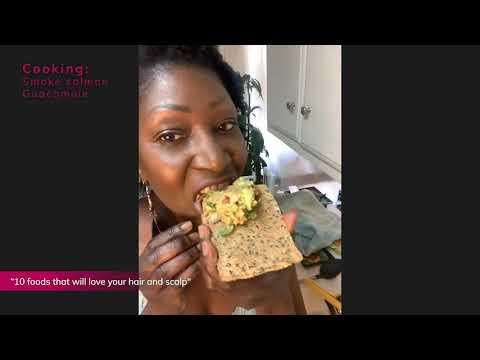 Cooking: Smoked salmon guacamole - Chef Angelia
