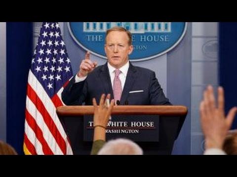 White House spokesmen under fire