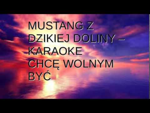 mustang z dzikiej doliny (nigdy nie ulegnę) - karaoke