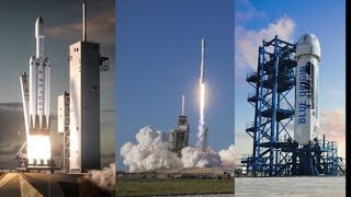 5 Private Companies in New Space Race
