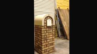 How To Build A Brick And Cast Stone Masonry Mailbox 4