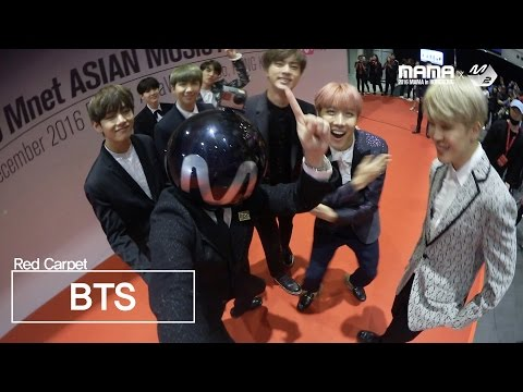 [2016MAMA x M2] BTS RedCarpet with MPD
