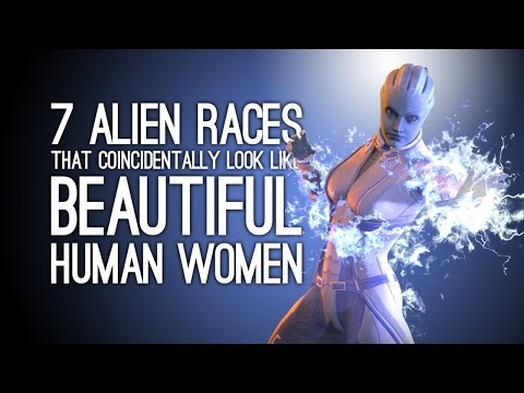 7 Alien Races That Look Like Beautiful Human Women by Amazing Coincidence
