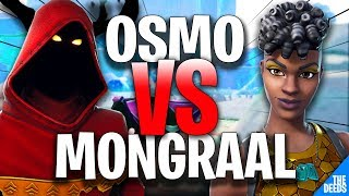 Secret Mongraal 1 VS 1 Secret Osmo - France Créatif 1v1 'INSANE FORTNITE BUILD FIGHTS'