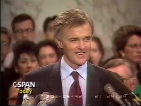 1992 Bob Kerrey Withdrawals from Presidential Race