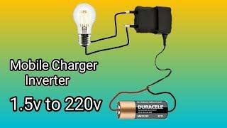 Mini inverter 1.5V to 220V | DC to AC Inverter