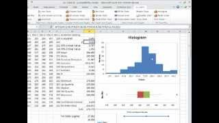 How to Draw a Histogram in Excel 2007, 2010, 2013 using EZ Chart Plus - a Tutorial