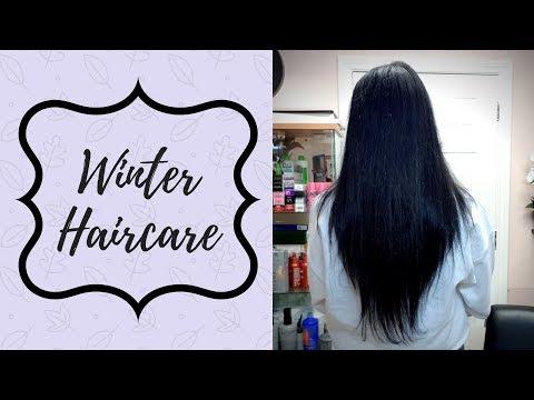 WINTER HAIRCARE TIPS! + JAN 2018 hair length update