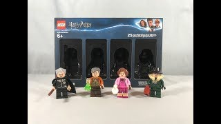 LEGO Harry Potter Bricktober Minifigure 4 Pack Review