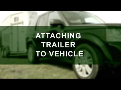 Towing a horse trailer: how to hitch up