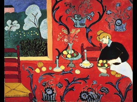 Henri Matisse, Harmony in Red, 1908-09, Fauvism
