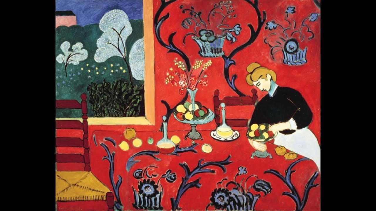 Henri Matisse Harmony In Red 1908 09 Fauvism
