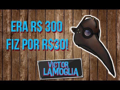 FIZ A MÁSCARA DA PESTE! (DIY) - Victor Lamoglia