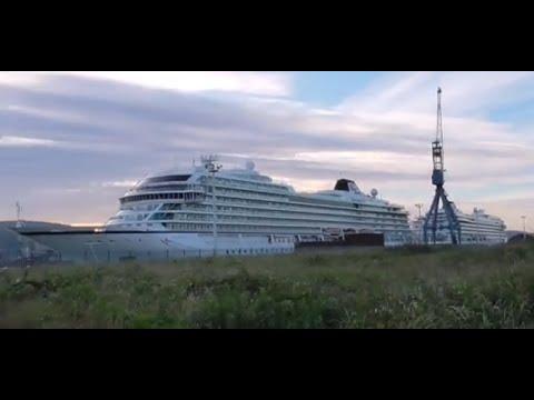 Viking Sun, Sea and Sky Cruise Ships, Belfast 2020