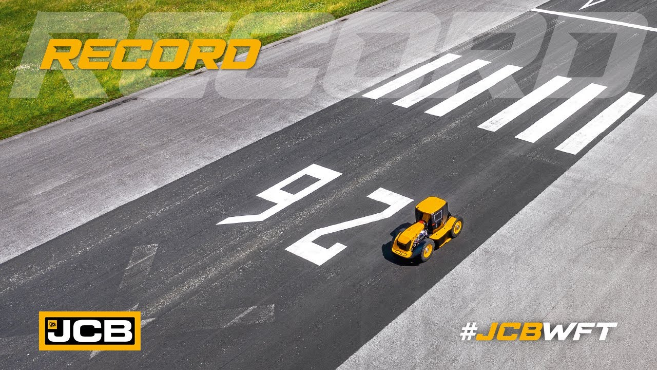 Record - JCB WFT Fastrac, the World's Fastest Tractor