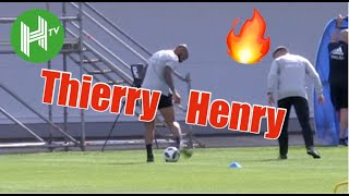 Thierry Henry shows he