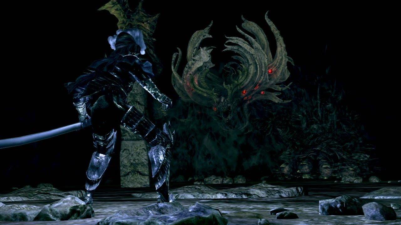 《黑暗靈魂》DLC頭目攻略「深淵之主馬努斯」 - YouTube