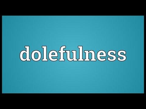 Header of dolefulness