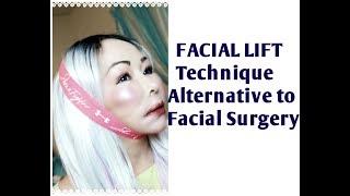 LIFT Cheeks, Jaws & Neck, most effective Facial LIFT technique, alternative to facial Lift Surgery