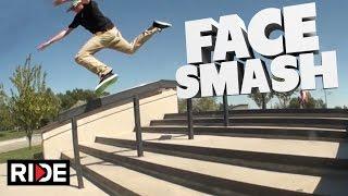 SMASHED MY FACE! Skateboard Slam - Ryan Schaffer