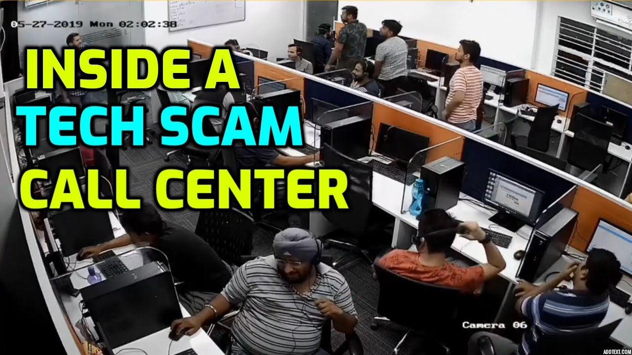 Inside An Indian Scam Call Center! (Spying On The Scammers) - YouTube
